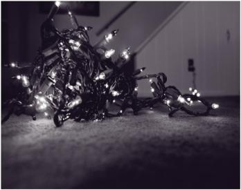lights bw