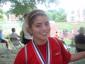 Athena at the 2008 Transplant Games of America