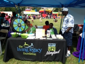 At the Days of Hope, our Donate Life Ambassadors engage the community with games, giveaways and educations on the facts about donation.